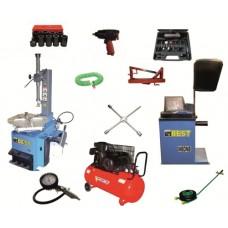 Шиномонтажное оборудование под ключ эконом Best T521+W60